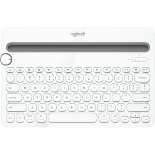 Tastatura Bluetooth K480 Multi-Device Keyboard Alb