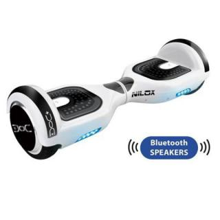 Transportor Hoverboard Doc 2 Plus Bluetooth Alb