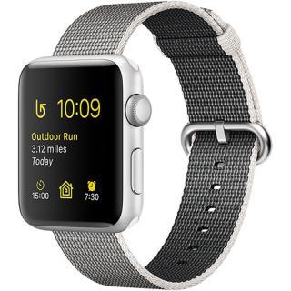 Watch 2 Aluminiu Argintiu 38MM Si Curea Nylon Gri Pearl