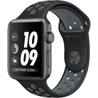 Watch 2 Nike Plus Aluminiu Negru 38mm Si Curea Sil