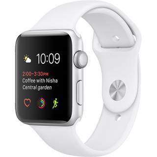 Watch 2 Sport Aluminiu Argintiu 38MM Si Curea Silicon Alb