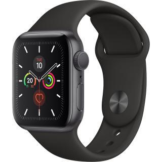 Watch 5 GPS Aluminiu Negru 44MM Si Curea Sport Silicon Negru