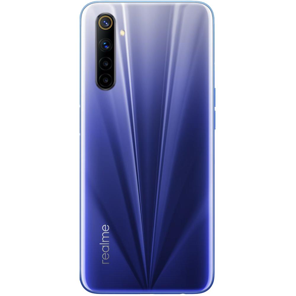 6 Dual Sim Fizic 128GB LTE 4G Albastru Comet Blue 4GB RAM