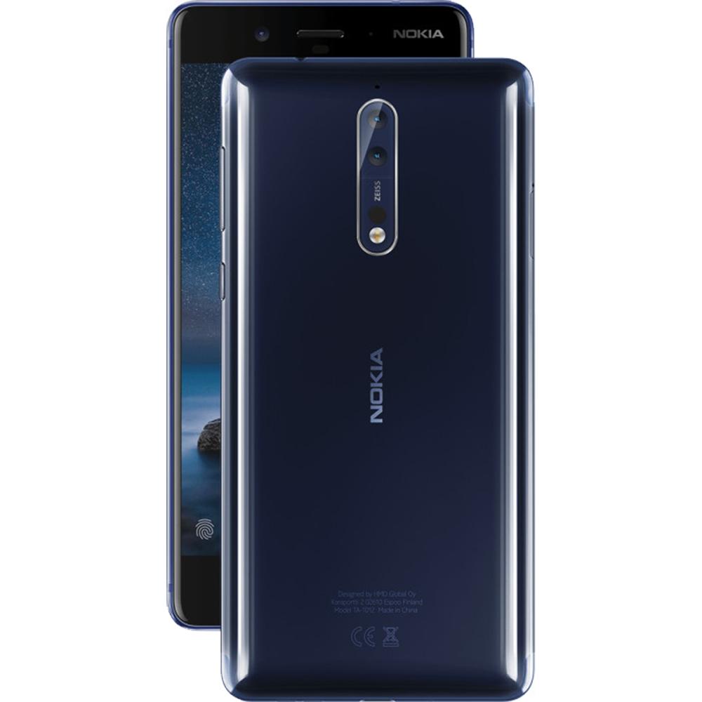 8  Dual Sim 64GB LTE 4G Albastru + Husa 4GB RAM