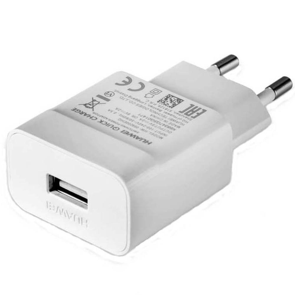 Adaptor Priza USB Cu Incarcare Rapida 2A  Alb