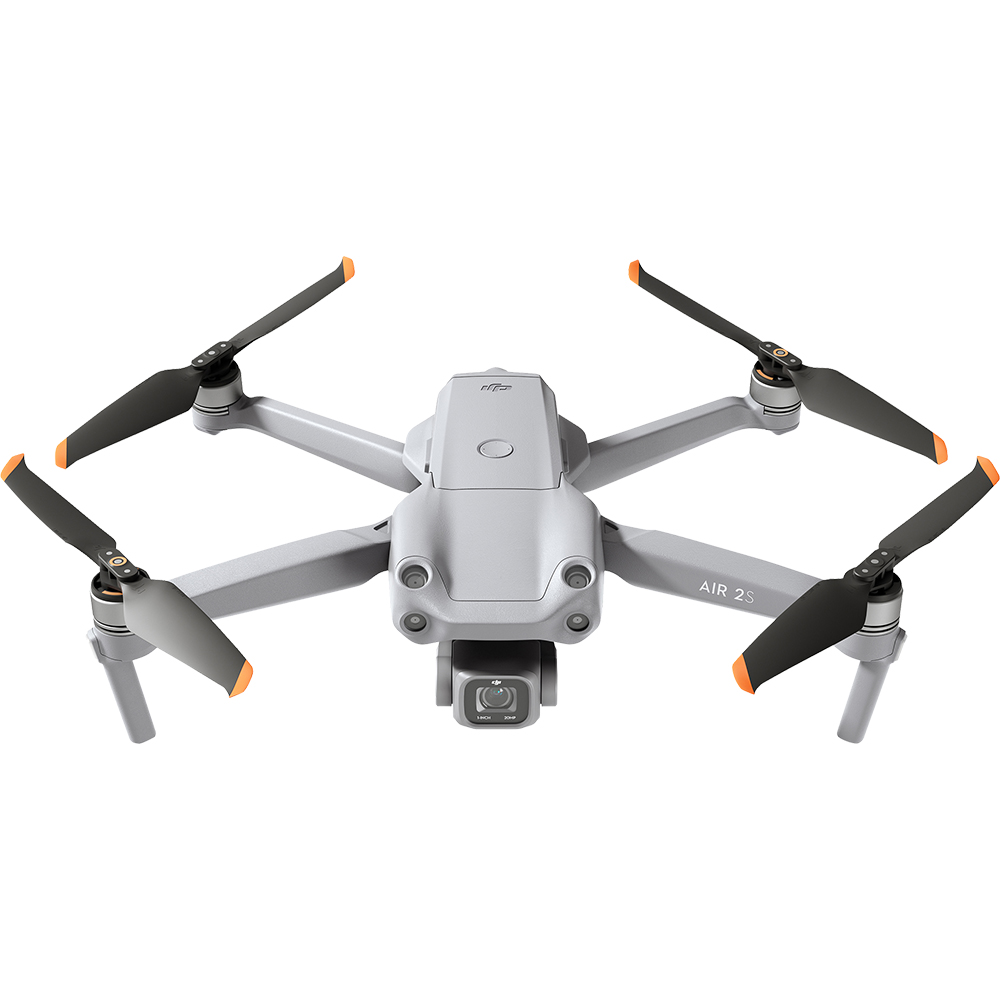 Drona Air 2S 5.4K, Senzor CMOS 1 inch, 12km FHD Transmission, Detectarea Obstacolelor In 4 Directii, ADS-B, Gri