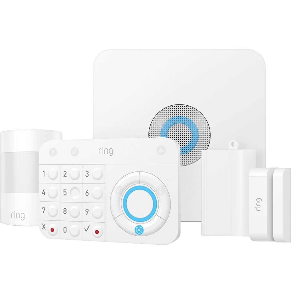 Alarm Home Security Kit Alb