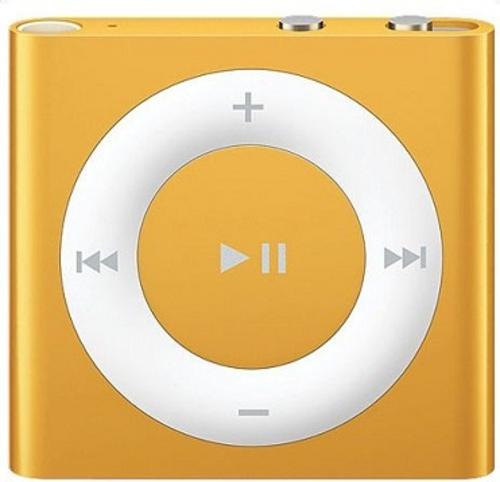 Ipod shuffle 2gb orange new generation
