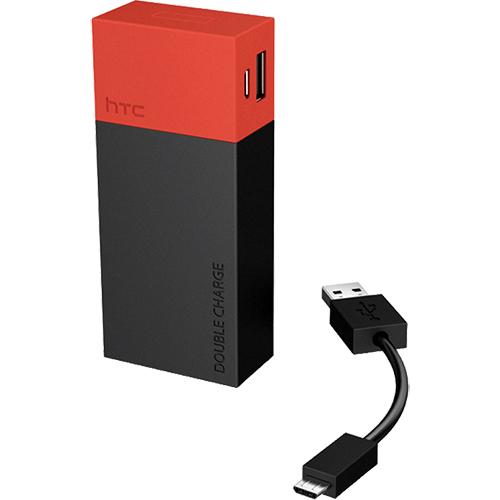 Baterie externa 6000 mah negru  desire v