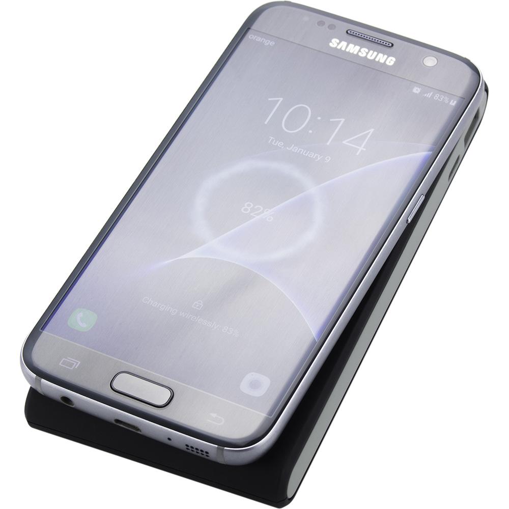 Baterie Externa Cu Incarcare Wireless 7000 mAh Negru
