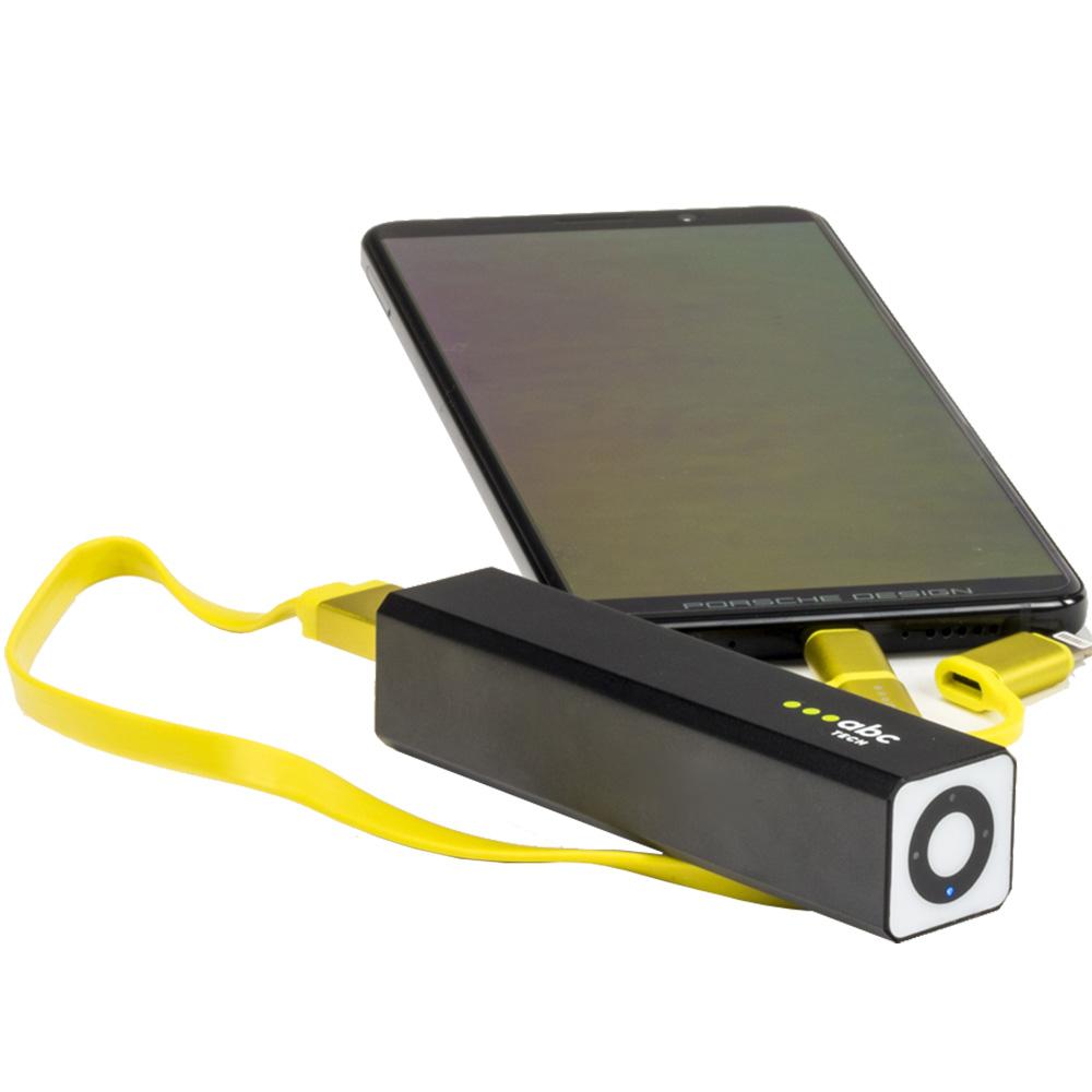 Baterie Externa Cu Led 2600 mAh
