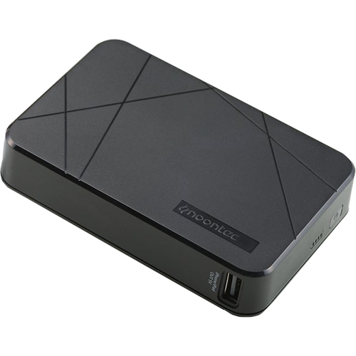 Baterie Externa 10000 mAh Cubee Negru