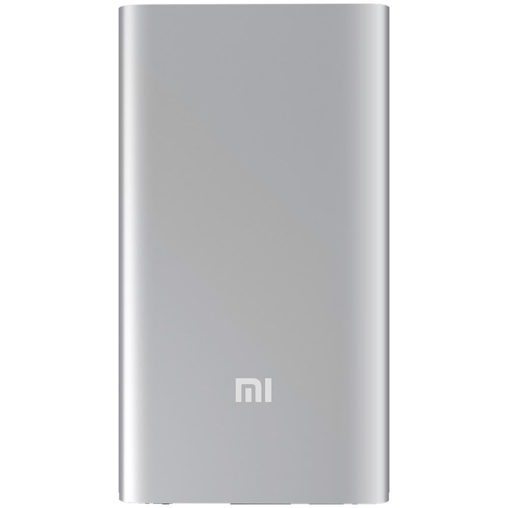Baterie Externa Mi 2 5000mAh Argintiu