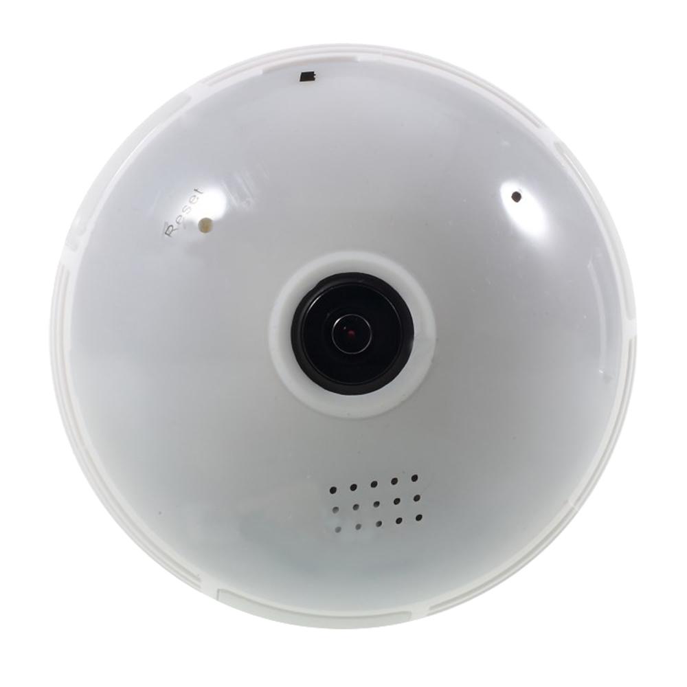 Bec Led Inteligent Cu Camera De Supraveghere HD 360, E27, CAM-005B Alb