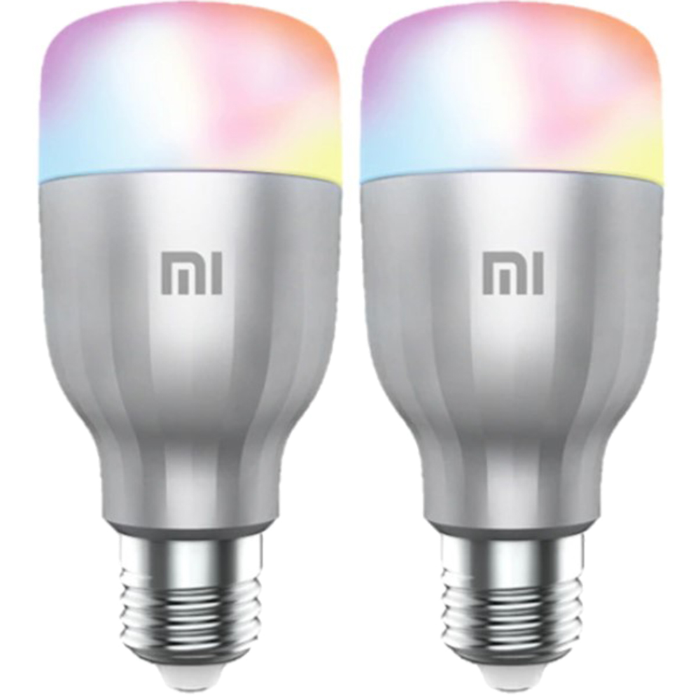 Bec Inteligent Mi LED Smart Bulb 2 Pack Multicolor