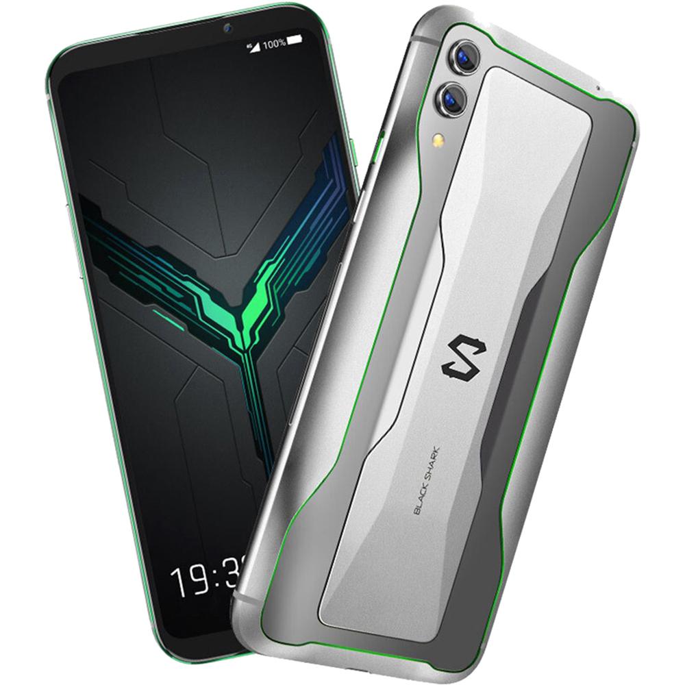 Black Shark 2  Dual Sim 128GB LTE 4G Argintiu Frozen 8GB RAM