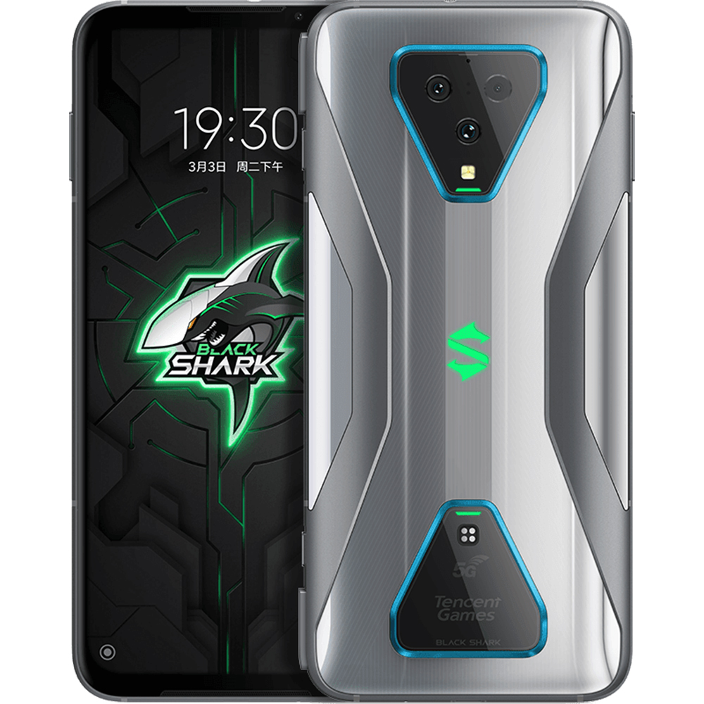 Black Shark 3 Dual Sim Fizic 128GB 5G Gri Knight Grey 8GB RAM