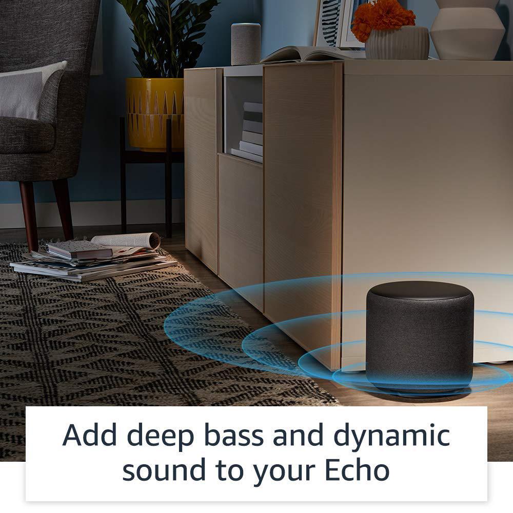 Subwoofer Echo Sub Pentru Boxele Amazon Echo Negru