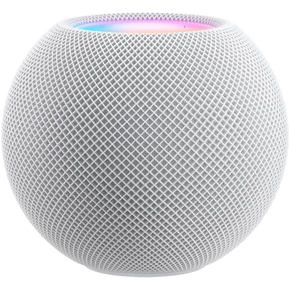 Boxa Inteligenta HomePod Mini, Siri, Control Vocal, Microfon, Sunet 360, Bluetooth, HomeKit, Alb