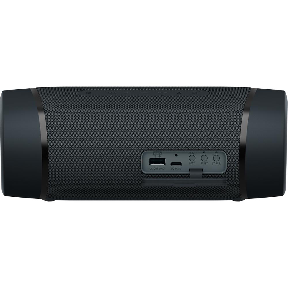 Boxa Portabila Bluetooth 5.0 SRS-XB33, Extra Bass, Waterproof IP67, Party Connect Negru