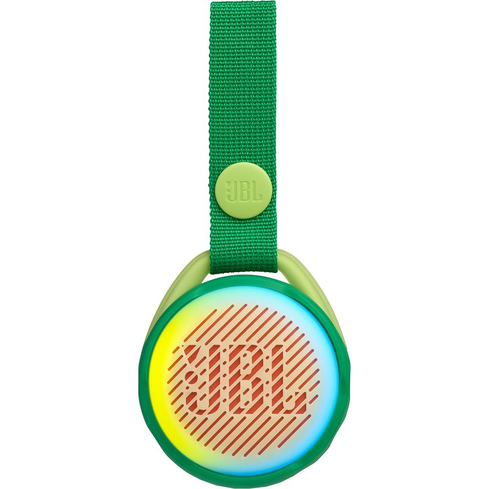 Boxa Portabila Wireless Bluetooth JR POP Kids, Panou Control, Carabina, Verde