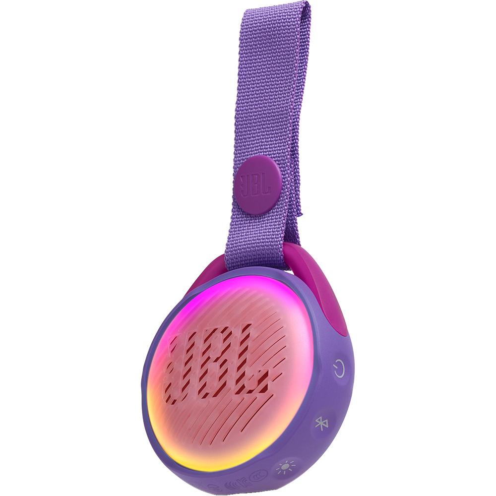 Boxa Portabila Wireless Bluetooth JR POP Kids, Panou Control, Carabina, Violet