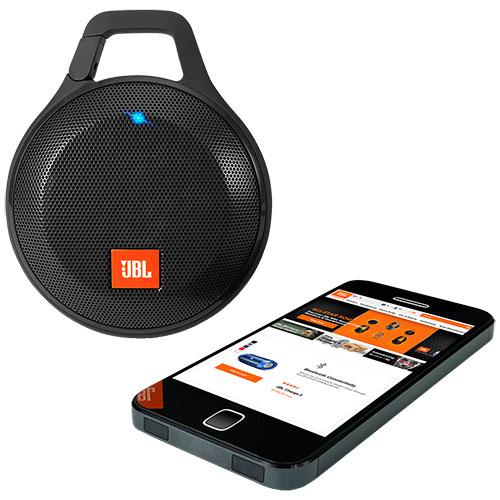 Boxa Portabila Clip+ Wireless Splashproof Negru