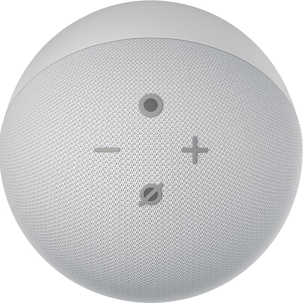 Boxa Portabila Echo Dot 4th Gen, Alexa, LED, Control Voce, Microfon, Alb