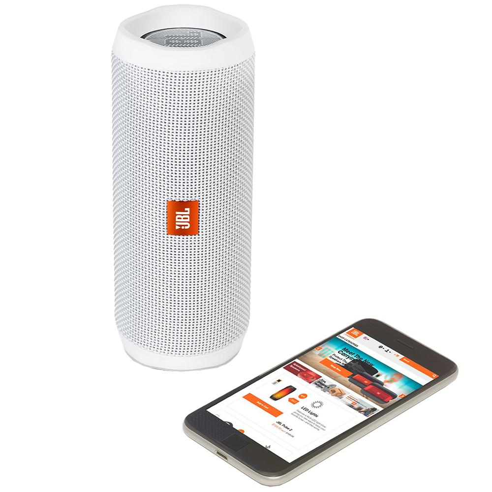 Boxa Portabila Flip 4 Wireless Alb