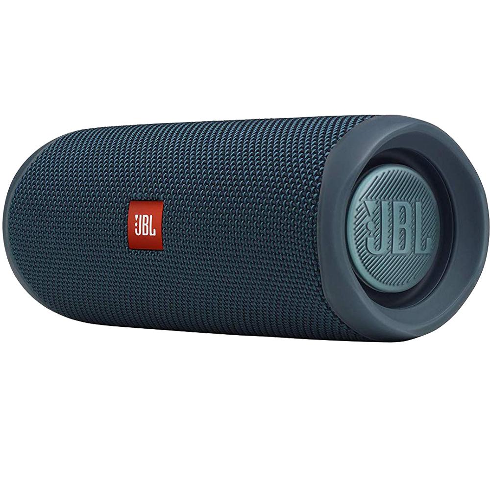 Boxa Portabila Wireless Bluetooth Flip 5, Buton Control, IPX7, Albastru