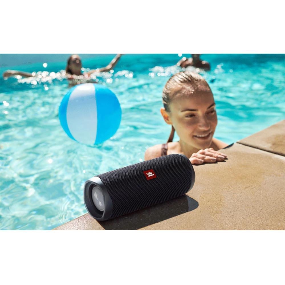Boxa Portabila Wireless Bluetooth Flip 5, Buton Control, IPX7, Negru