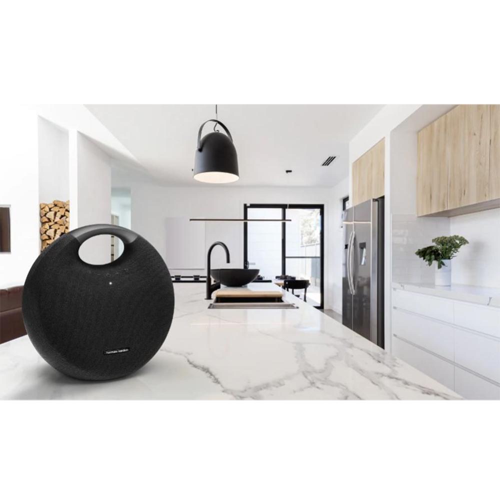 Boxa Portabila Wireless Bluetooth Onyx Studio 6, Conectare Multipla, Buton Control, Negru