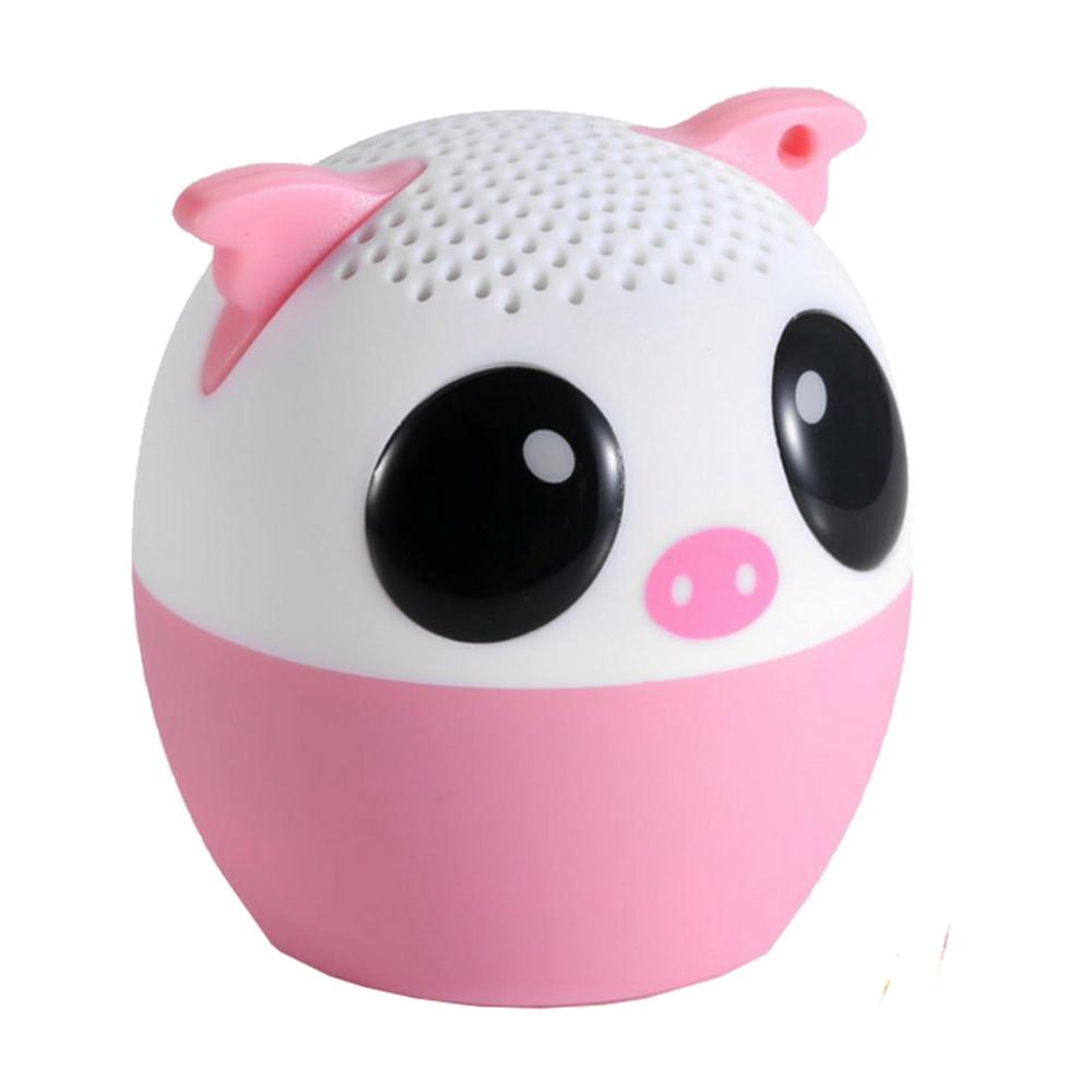 Boxa Portabila Pig Cu Buton Pentru Selfie
