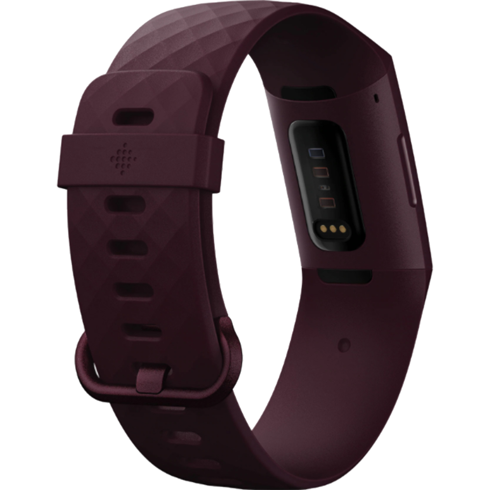 Bratara Fitness Charge 4, Bluetooth, GPS, 5ATM, Ritm Cardiac, Rosewood Visiniu