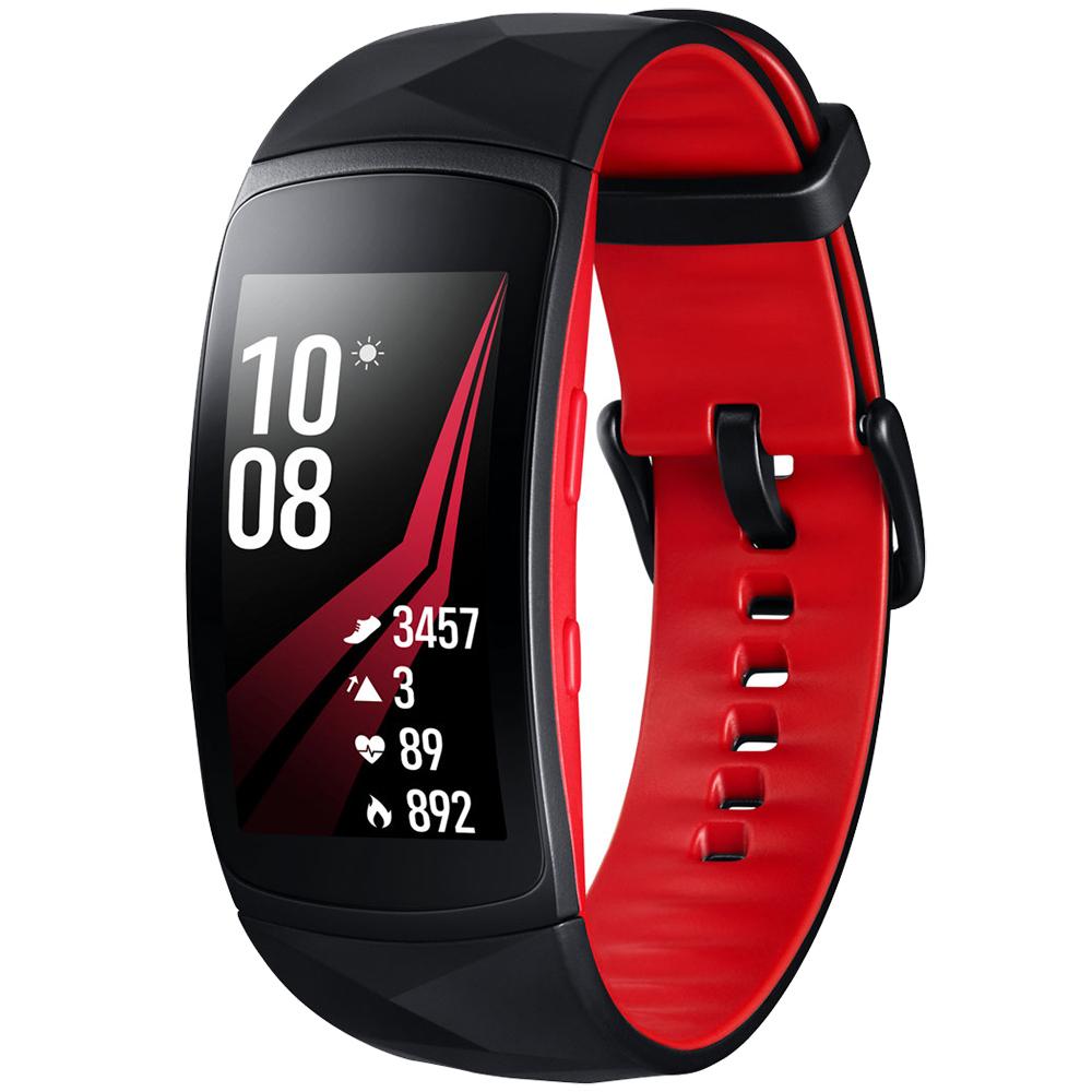 Bratara Fitness  Gear Fit 2 Pro Marime L  Rosu