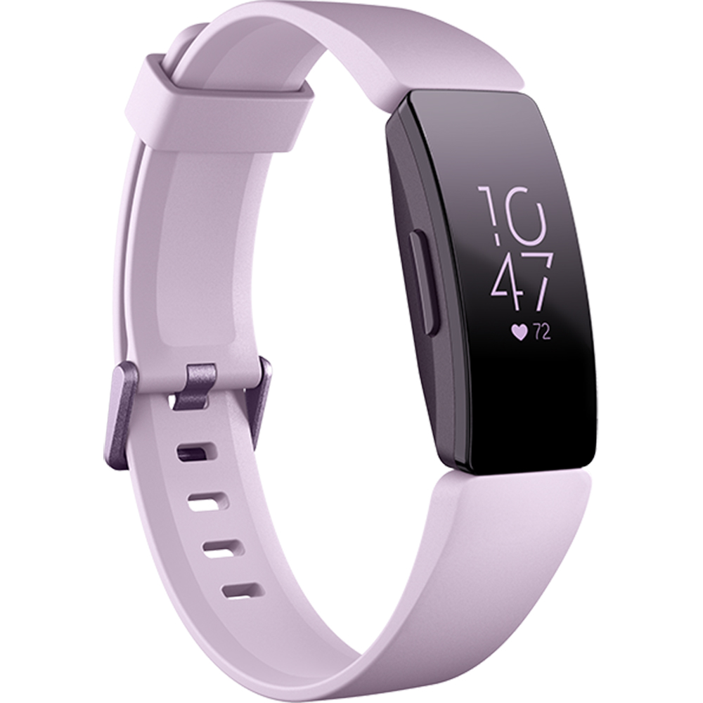 Bratara Fitness Inspire HR Heart Rate and Fitness Tracker Lilac Violet