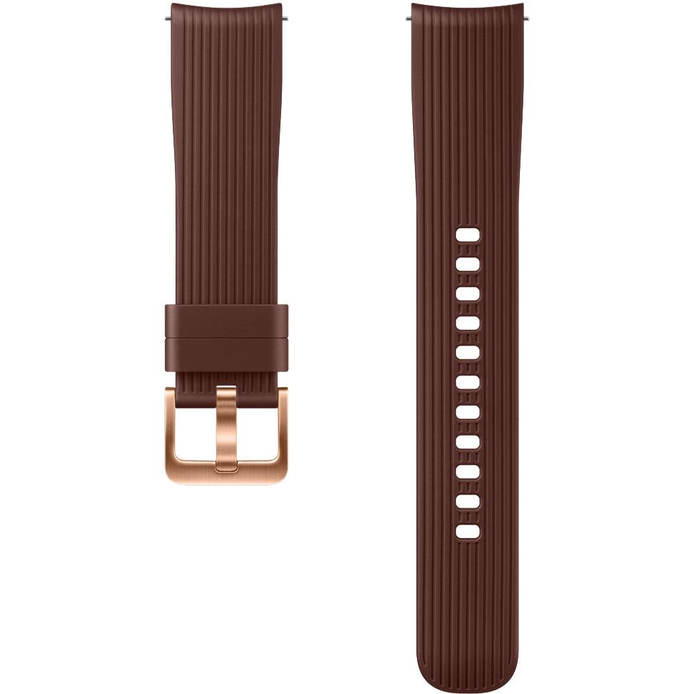 Bratara Silicon Pentru Galaxy Watch (42MM)  Maro
