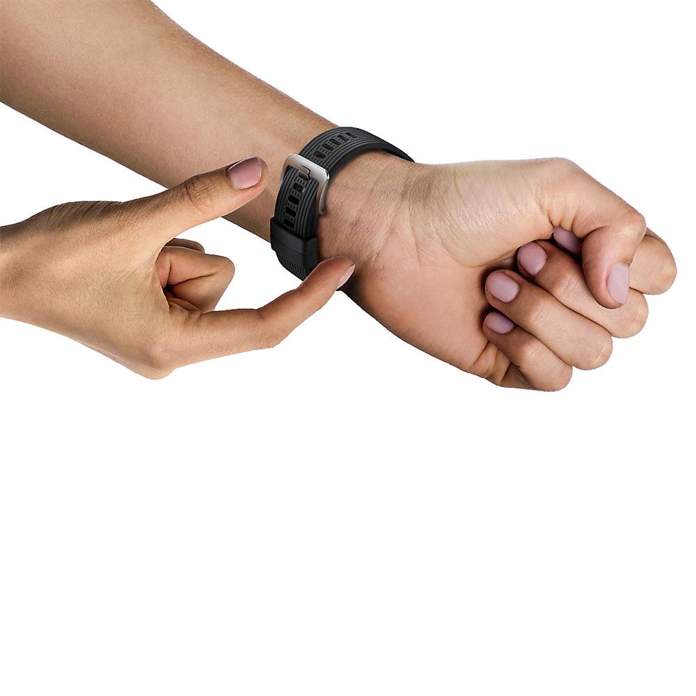 Bratara Silicon Pentru Galaxy Watch (46MM)  Negru