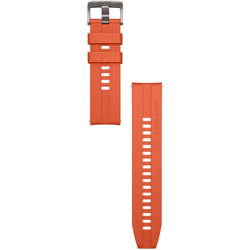 Bratara Silicon Pentru Huawei Watch GT  Portocaliu