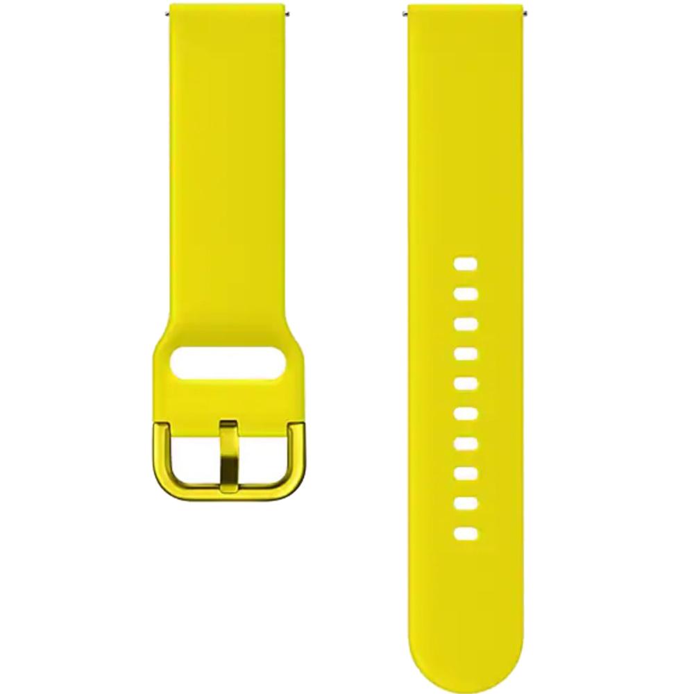 Bratara Sport Silicon Pentru Galaxy Watch Active  Galben