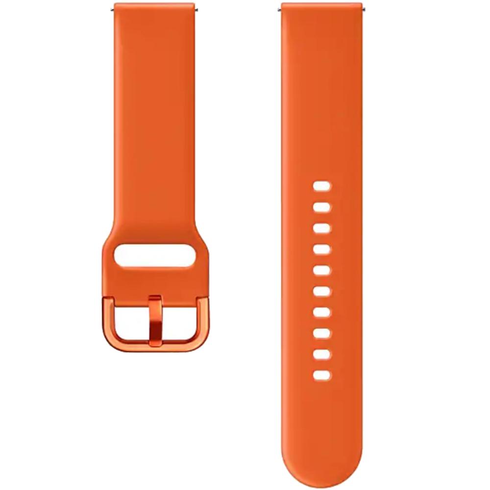 Bratara Sport Silicon Pentru Galaxy Watch Active  Portocaliu