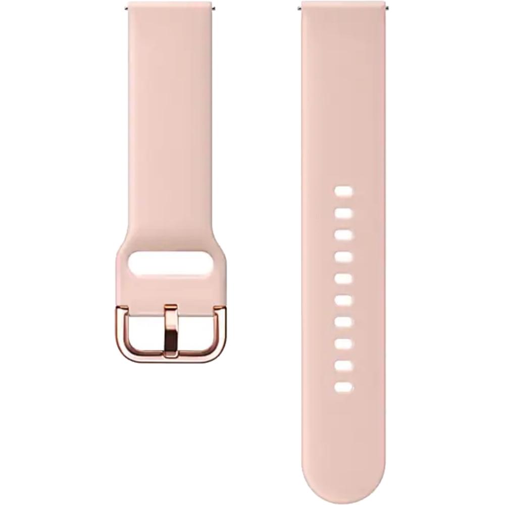 Bratara Sport Silicon Pentru Galaxy Watch Active  Roz