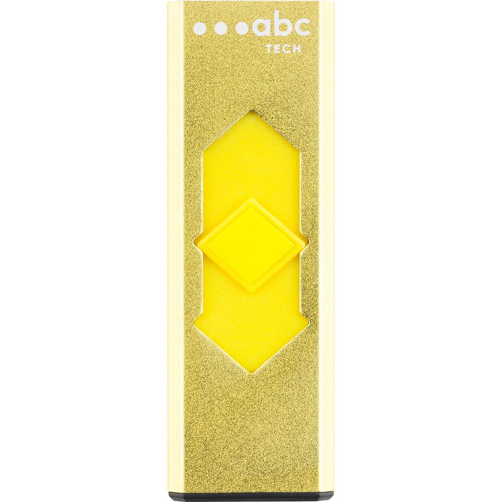 Bricheta Metalica Electronica USB Galben