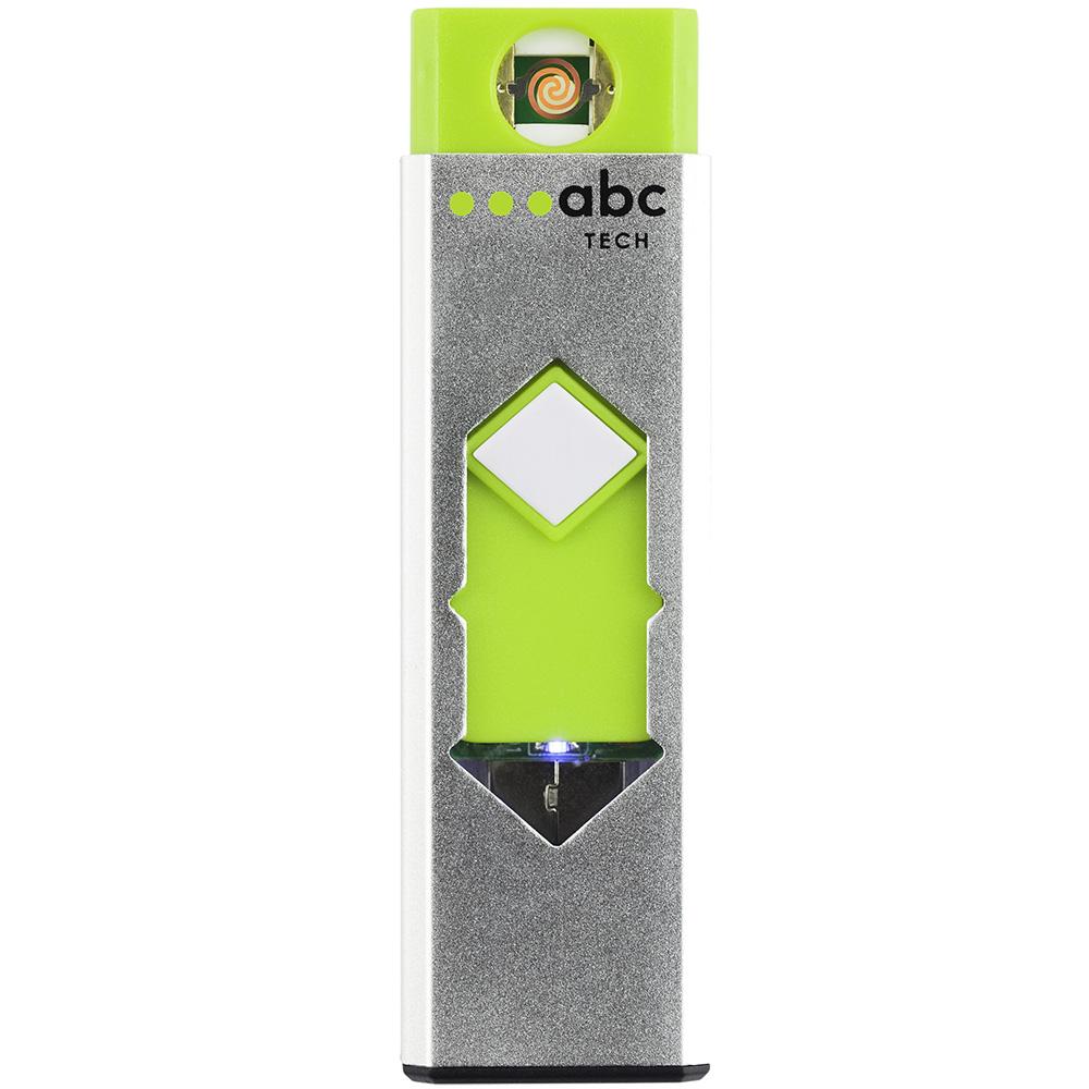 Bricheta Metalica Electronica Cu Incarcare Prin USB Alb