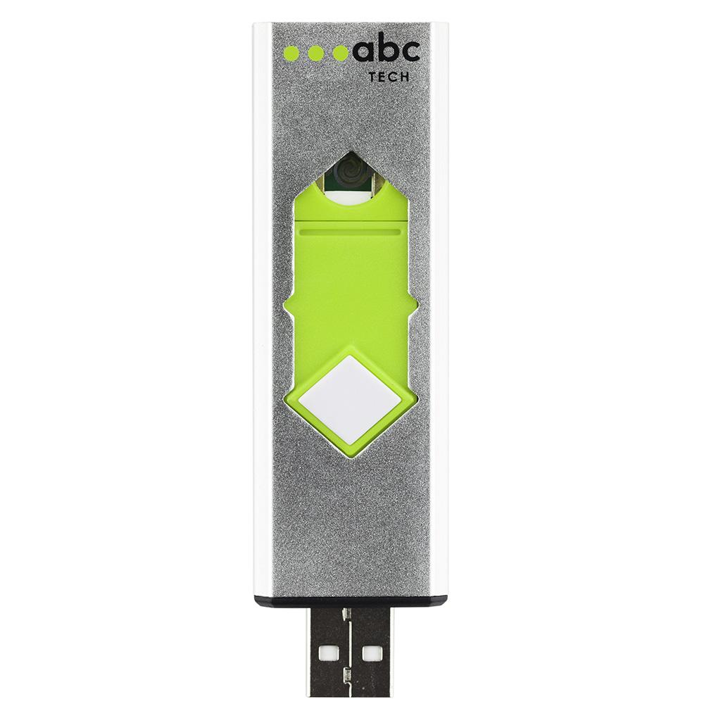 Bricheta Metalica Electronica USB Alb