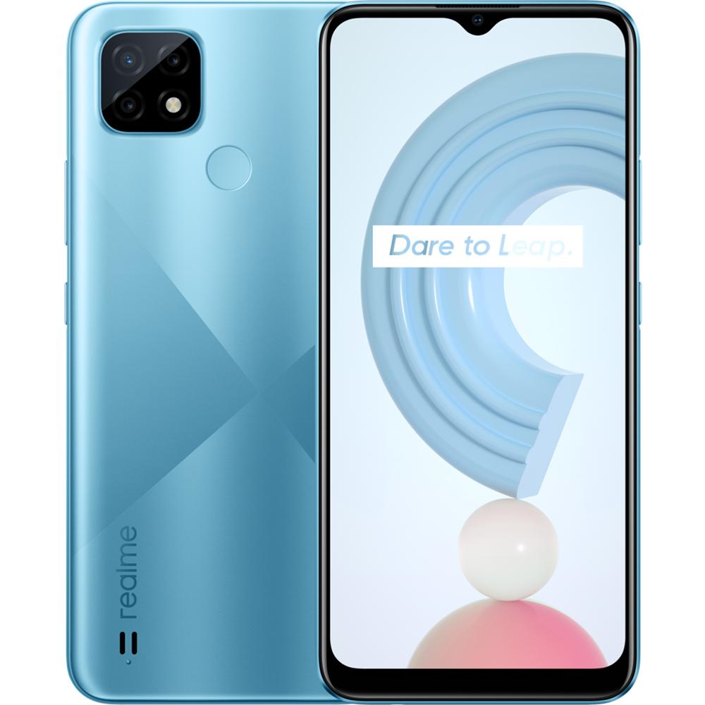 C21 Dual Sim Fizic 32GB LTE 4G Albastru NFC 3GB RAM