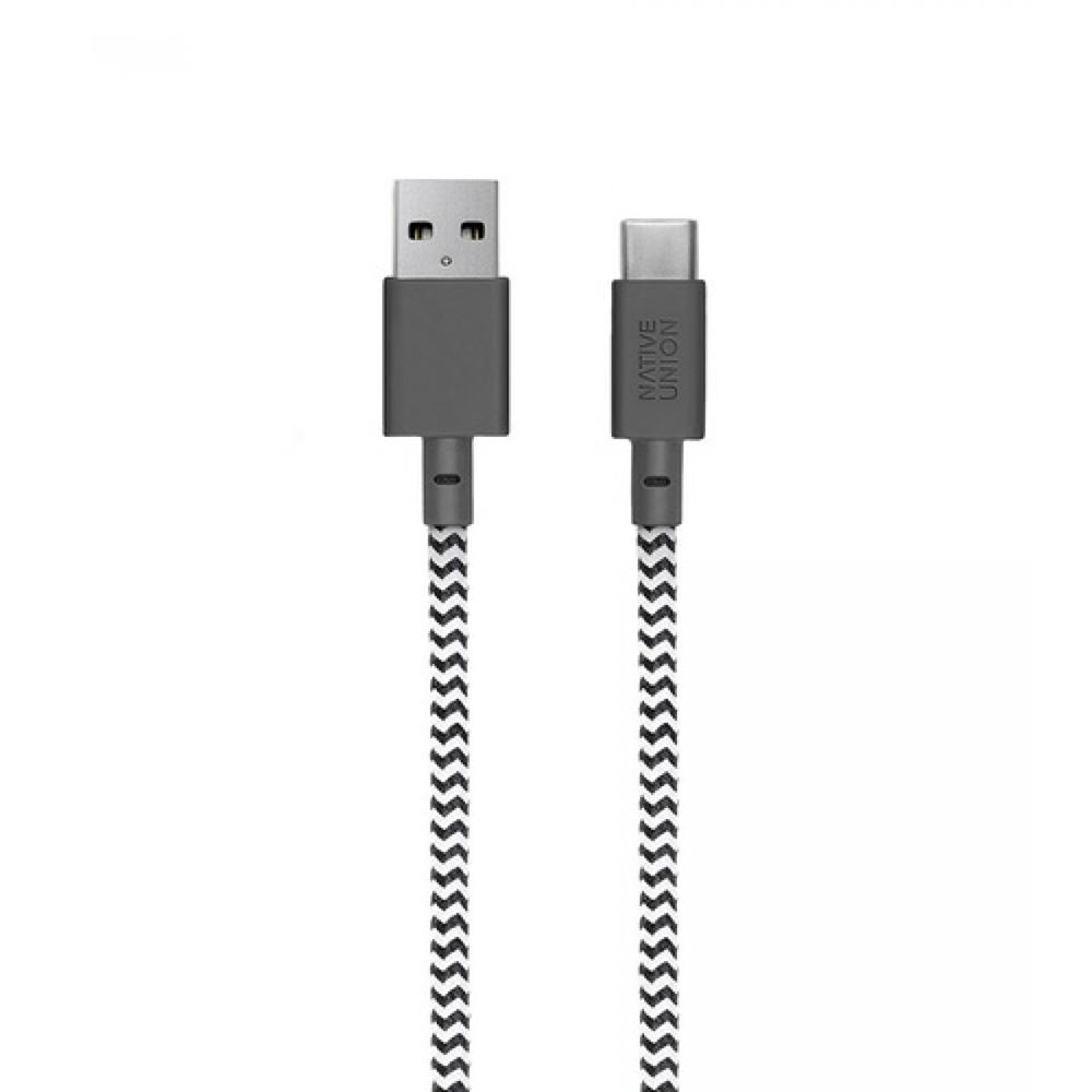 Cablu de date si incarcare de la USB la type-C, lungime 1.2M, calitate super premium