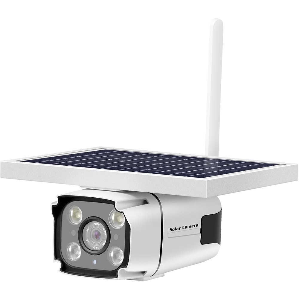 Camera de Supraveghere IP Full HD 4G LTE Cu Incarcare Solara Si Baterie Incorporata 10.000 mAh