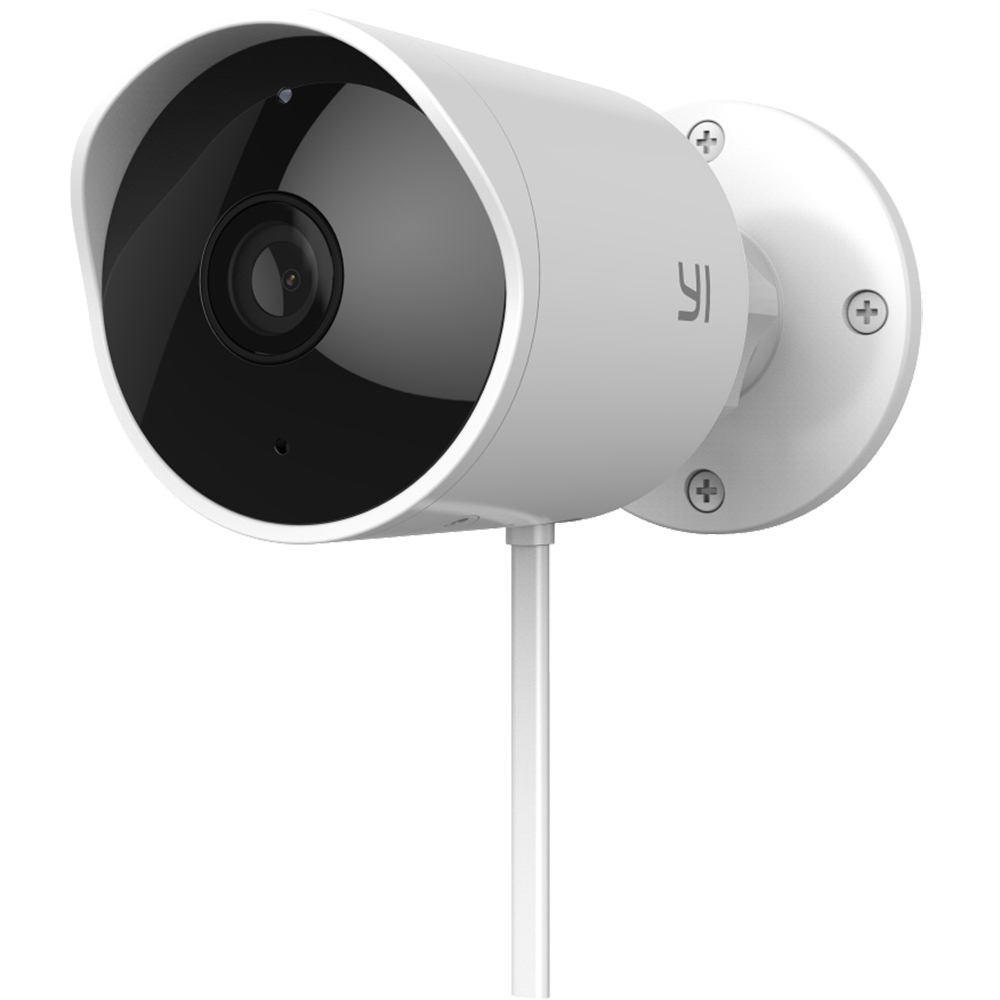 Camera de supravechere Exterioara Outdoor, full HD 1080p, 110 grade, 12 cadre, Mi Home, alba