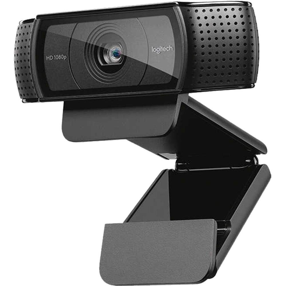 Camera Web C920E, 1080p, Full HD, 30 fps, Senzor Imagine CMOS, Microfon, Negru